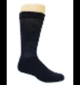 Mens Winter Nits Wide Comfort Top Merino Wool Navy