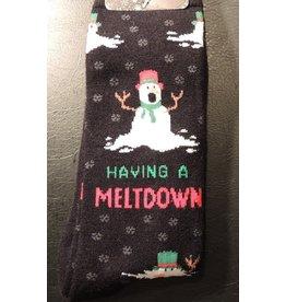 Davco Mens Snowman Meltdown Socks