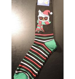 Mens Christmas Llama Dress Socks
