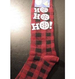 Mens Christmas Ho Ho Ho Dress Socks
