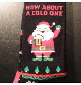 Davco Mens Cold One Santa Socks