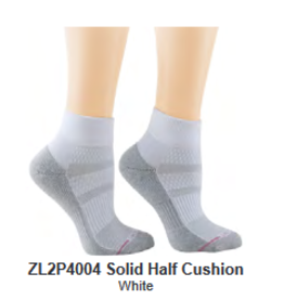Dr. Motion Quarter Top Compression Socks - Half Cushion