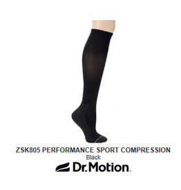 Davco Dr. Motion Sports Compression Socks Black Size 2