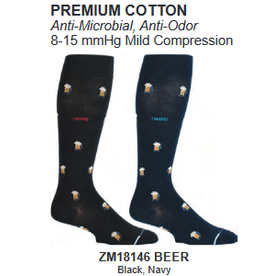 Davco Mens Compression Socks Beer