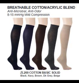 Davco Womens Compression Premium Cotton Socks