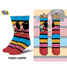Cool Socks Womens Froot Loops Fuzzy Socks