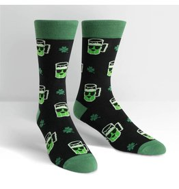 Sock it to Me SITM Men's Lucky Beer Socks