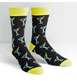 Sock it to Me SITM Men's Shaken Not Stirred Socks