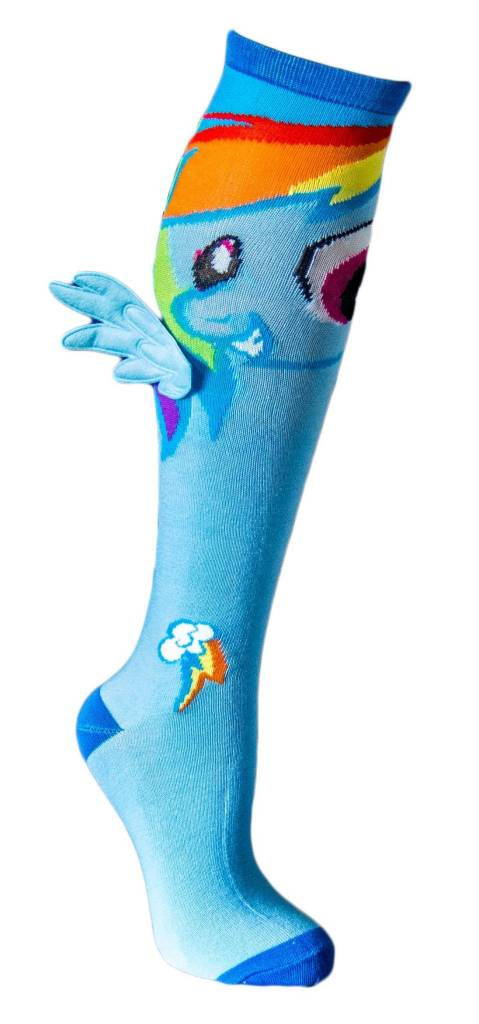 My Little Pony My Little Pony Rainbow Dash With Wings Knee High Socks ...