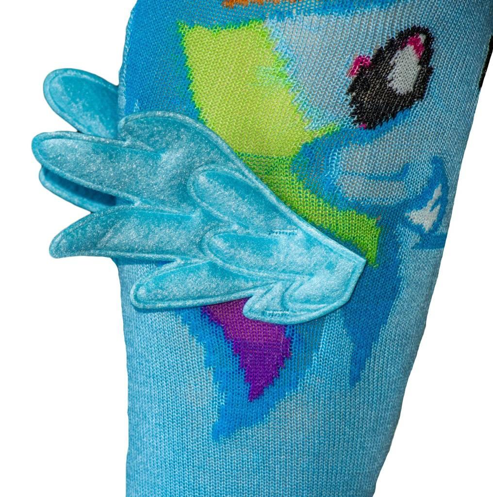 b27a3b288f8 My Little Pony Rainbow Dash With Wings Knee High Socks - The Sox Market