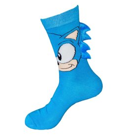 Sonic With Blue Spikes Crew Socks