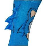 Sega Sonic With Blue Spikes Crew Socks