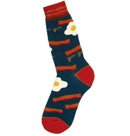 Foot Traffic Mens Bacon Socks