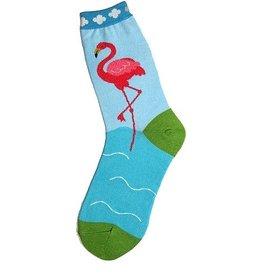 Foot Traffic Womens Flamingo Socks
