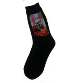Foot Traffic Womens San Francisco 2 Bridge Socks