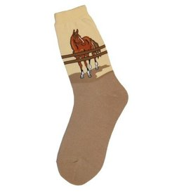 Foot Traffic Womens Horse Corral Socks