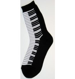 Foot Traffic Womens Piano Socks