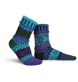 Solmate Solmate Adult Crew Socks Blue Spruce Small