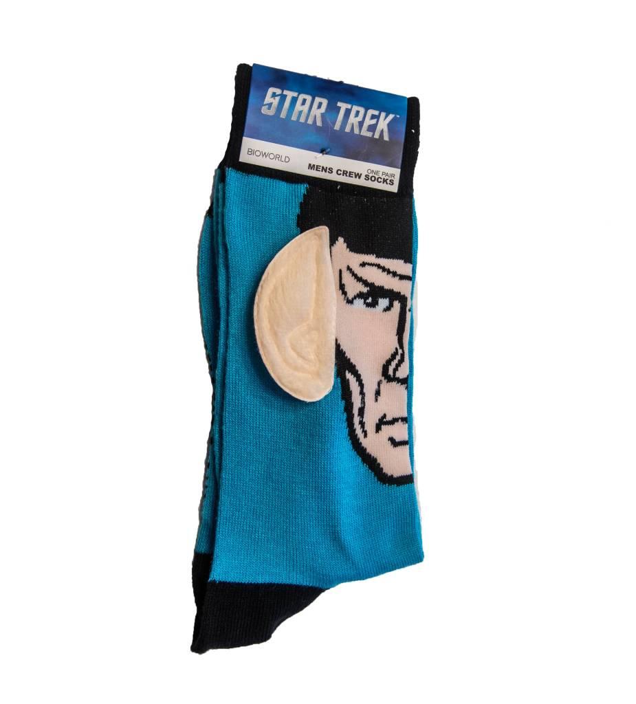 Star Trek Spock w/Ears Crew Sock