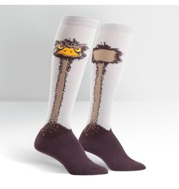Sock it to Me Ostrich Womens Knee High Socks