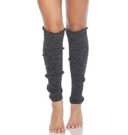 Foot Traffic FT Cable Knit Leg Warmers Charcoal