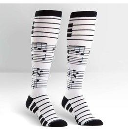 Sock it to Me SITM Women's Foot Notes Socks