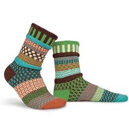 Solmate Solmate Mismatched September Sun Socks Large