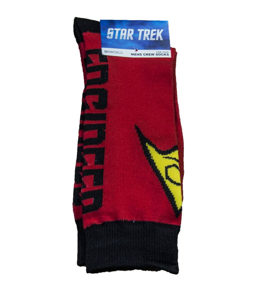Star Trek Red Uniform Crew Sock
