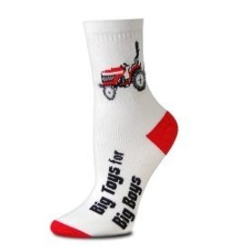 For Bare Feet Childrens Red Tractor Child 3/$24