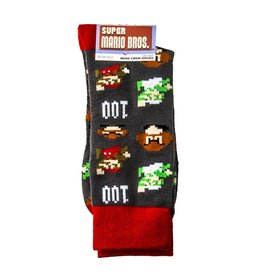 Super Mario Brothers All Over Print Crew Socks