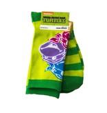 Teenage Mutant Ninja Turtles Teenage Mutant Ninja Turtles TMNT Colored Faces Crew Socks