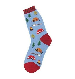 Foot Traffic Womens Camping Socks