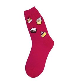 Foot Traffic Womens Cupcakes Socks
