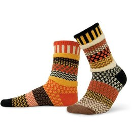 Solmate Solmate Adult Crew Socks Scarecrow Small