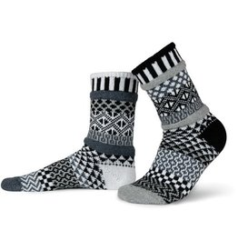 Solmate Solmate Mismatched Crew Socks Midnight Large