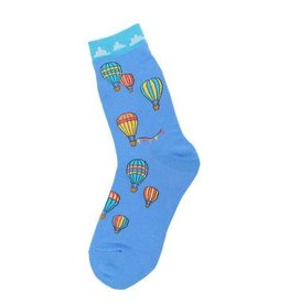 Foot Traffic Womens Hot Air Balloon Socks