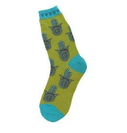Foot Traffic Womens Hamsa Socks