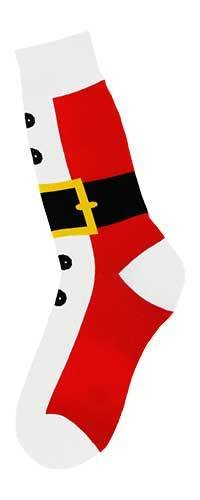 Foot Traffic Men's Santa Suit Socks