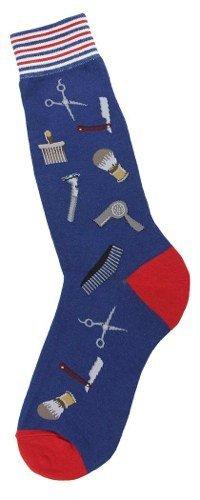 Foot Traffic Foot Traffic Mens Barber Shop Socks
