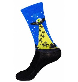 Sock it to Me SITM Men's The Alien Who Stole Christmas Socks
