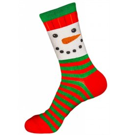 Foot Traffic Women's Snowman Face Socks