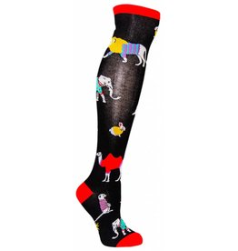 Sock it to Me SITM Women's Sweater Safari Socks