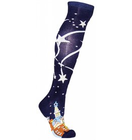 Sock it to Me Wish Upon a Star Womens Knee High Socks