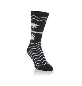 World's Softest Socks Women's Bear in Mind Socks