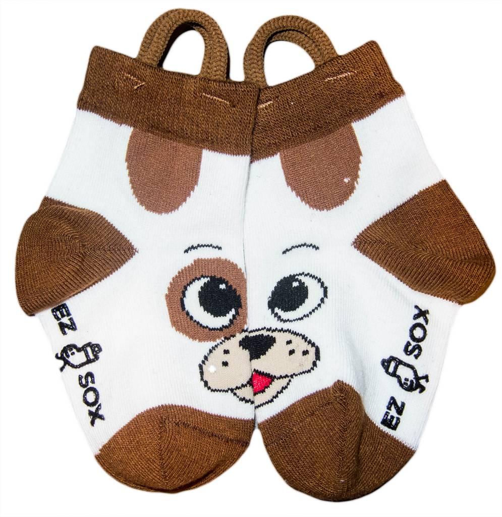 Ezsox Kids EZ Sox 2 Pair Pack Dog & Bear Socks