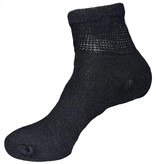Creswell Sock Mills Diabetic Loose Fit Quarter Top Sock Three Pack