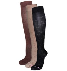 Davco Women's Compression Socks: Floral Pattern