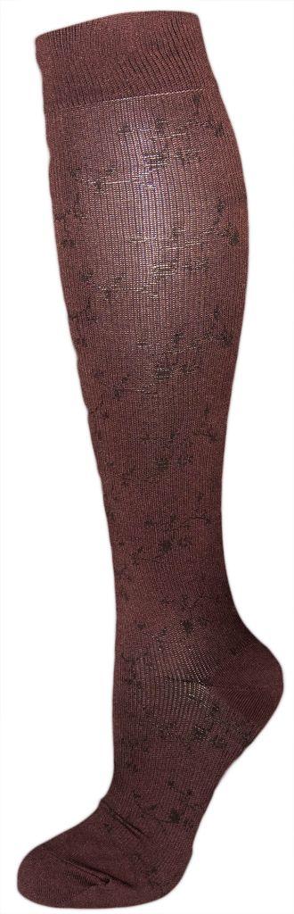 Dr. Motion Dr. Motion Women's Compression Socks: Floral Pattern