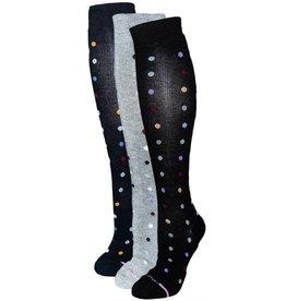 Davco Women's Compression Socks Dancing Dots