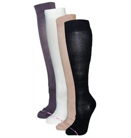 Davco Women's Compression Micro Nylon Sock: Solid Color